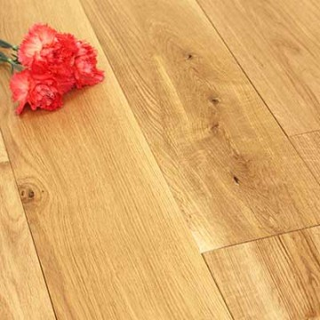 Solid Oak 150mm Brushed & Oiled 1.98m²