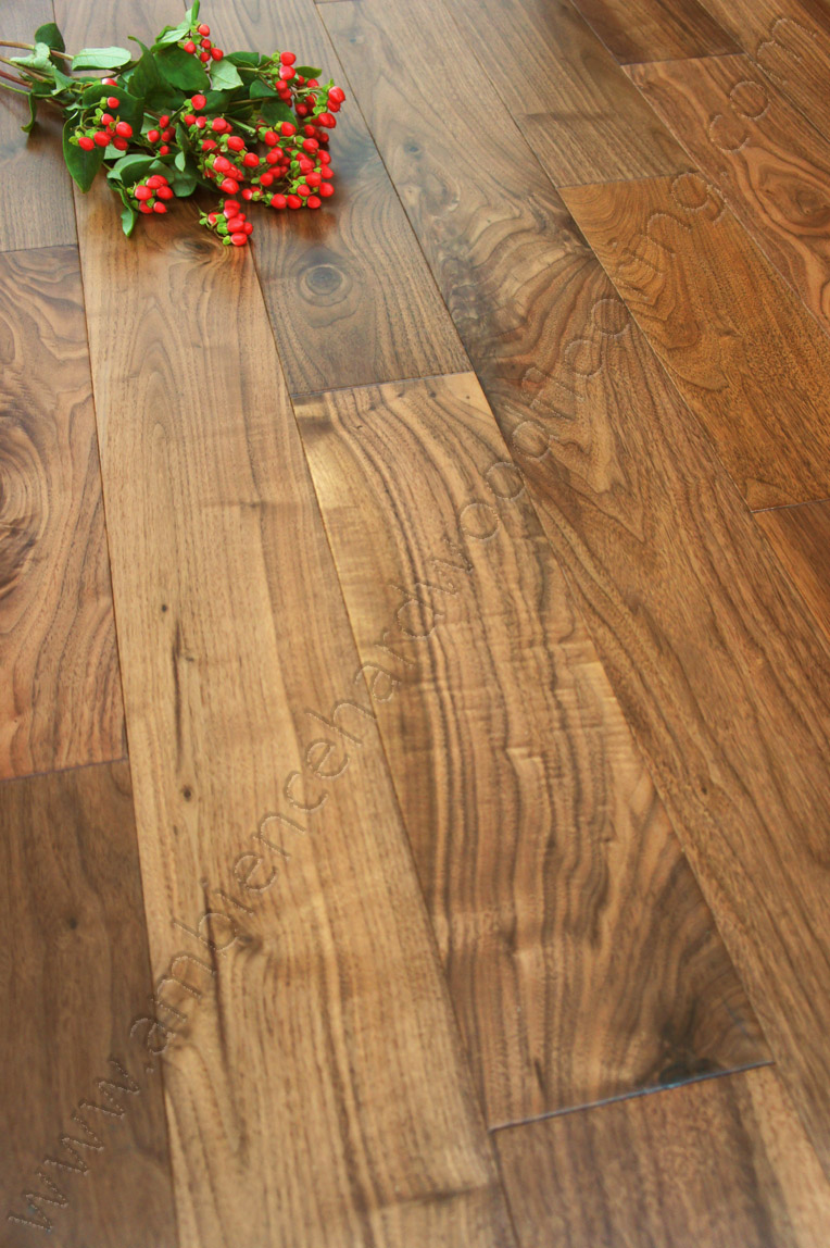 Solid American Black Walnut Flooring 130mm Diamond 2 29m2 S
