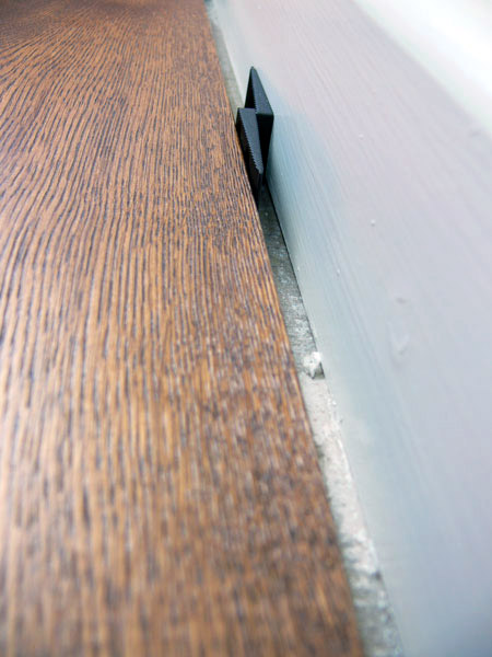 What is an expansion gap the wood flooring guide for Wood floor expansion gap