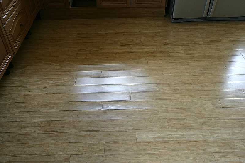 Problems with hardwood flooring moisture damage the wood for Hardwood floors cupping