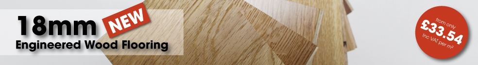 NEW 18mm Engineered Flooring