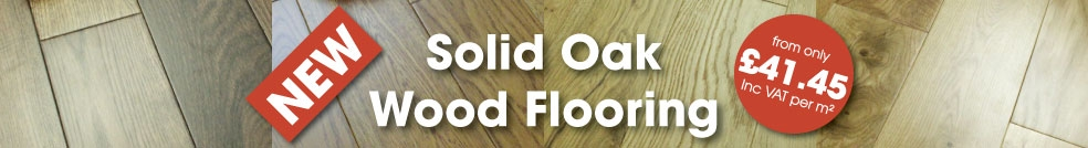 NEW Solid Oak Wood Floors