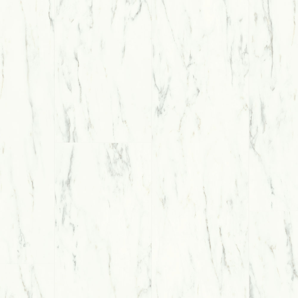 Quick Step Livyn Ambient Click Marble Carrara White AMCL40136 Vinyl Flooring