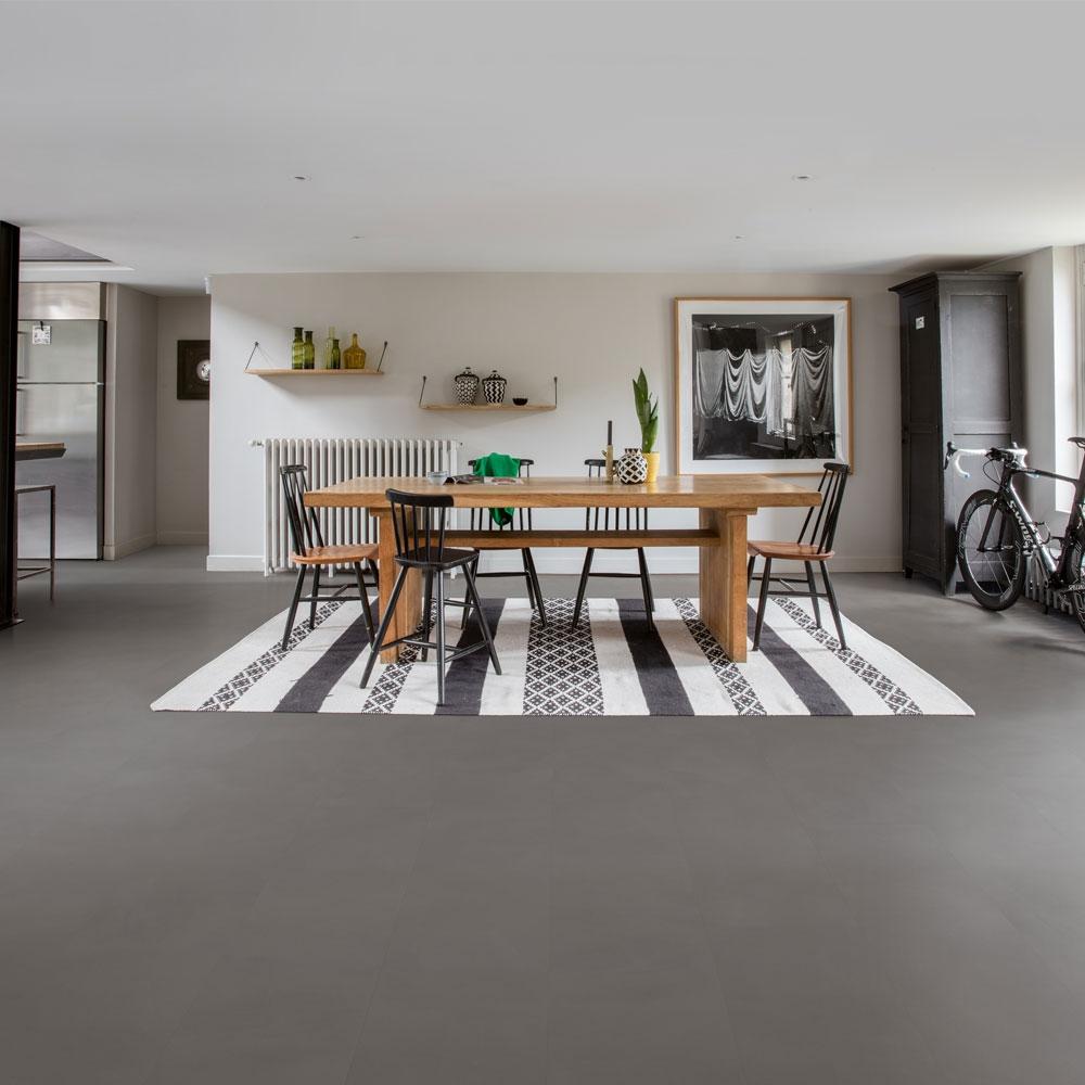 quick step livyn ambient click minimal medium grey amcl40140. Black Bedroom Furniture Sets. Home Design Ideas