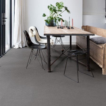 Quick-Step Livyn Ambient Click + Vibrant Medium Grey AMCP40138 Vinyl Flooring