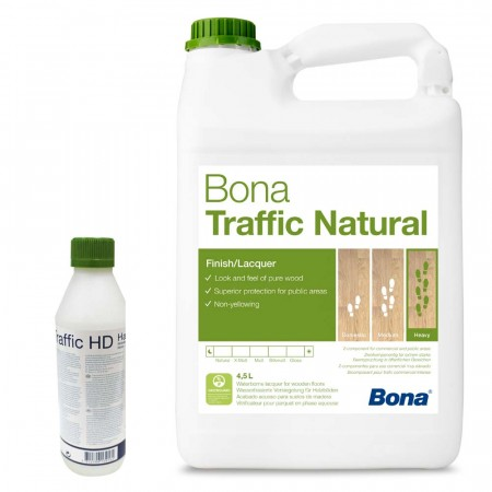 Bona Traffic Natural Varnish 4.5L