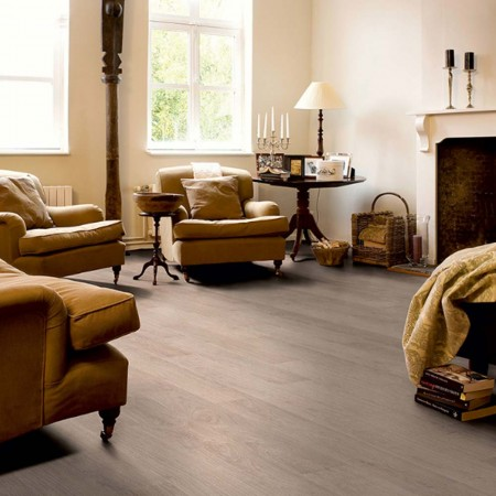 Quick-Step Classic Bleached White Oak Planks CLM1291 Laminate Flooring