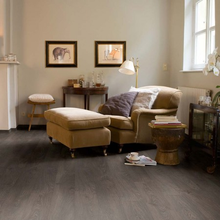 Quick-Step Classic Old Oak Grey Planks CLM1382 Laminate Flooring