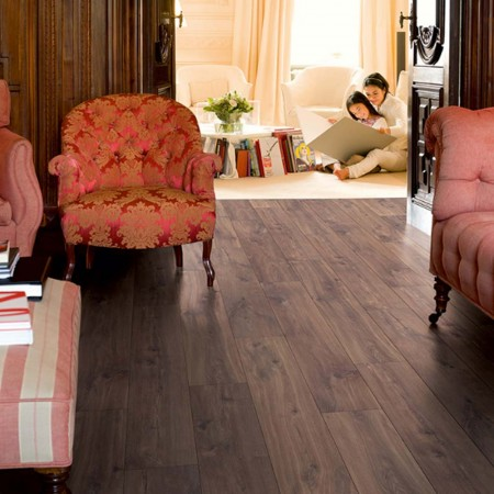 Quick-Step Classic Midnight Oak Brown Planks CLM1488 Laminate Flooring