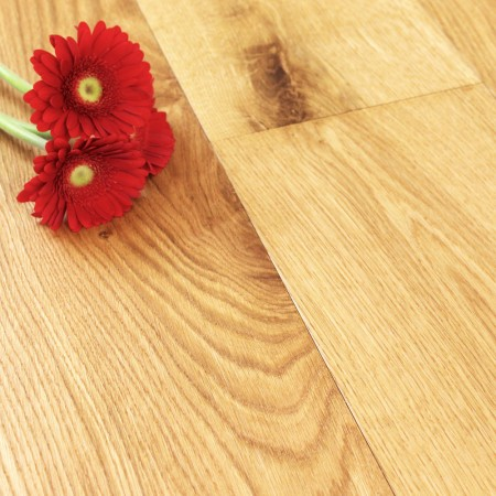 189mm Brushed & Oiled Engineered Oakham Oak Wood Flooring 1.66m²