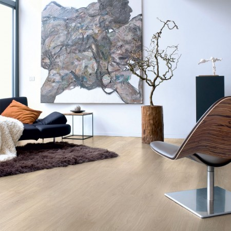 Quick-Step Eligna Light Grey Varnished Oak Planks EL1304 Laminate Flooring