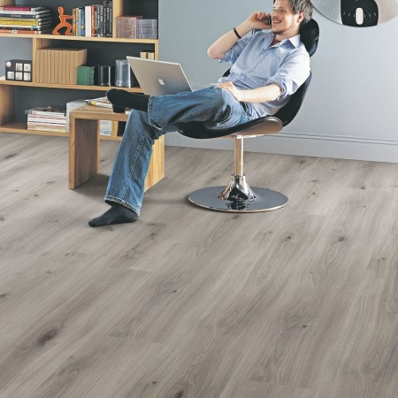 Elka 8mm Dove Oak ELW121 Long Plank Laminate Flooring