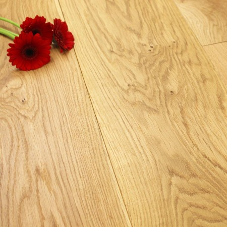 240mm Oiled Engineered Rustic Oak Wood Flooring 1.824m²