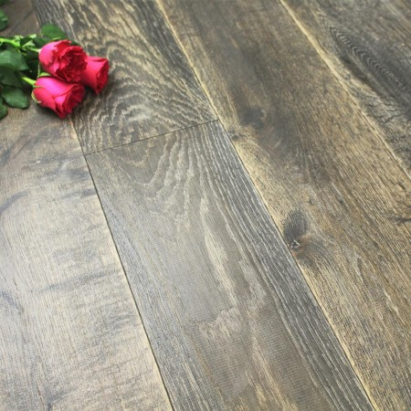 190mm Rustic UV Oiled Engineered Forge Oak Wood Flooring 2.17m²