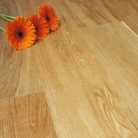 190mm Brushed & Oiled Engineered Natural Oak Click Wood Flooring 2.89m²