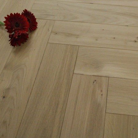 120mm Engineered Unfinished Parquet Block Oak Wood Flooring 0.72m²