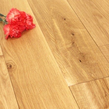 150mm Brushed & Oiled Solid Oak Wood Flooring 1.98m²