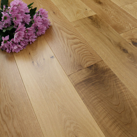 150mm Matt Lacquered Natural Solid Oak Wood Flooring 1.98m²