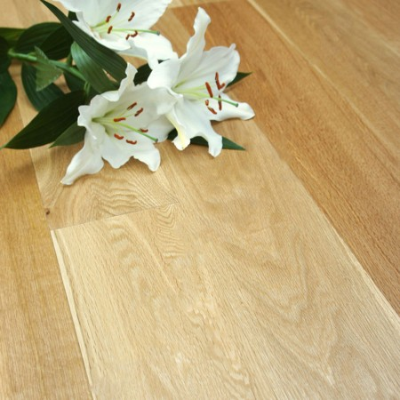 148mm Oiled Engineered Oak Click Wood Flooring 2.2m²