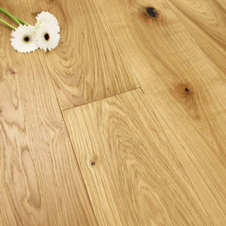 190mm UV Oiled Engineered Rustic Oak Wood Flooring 2.166m²
