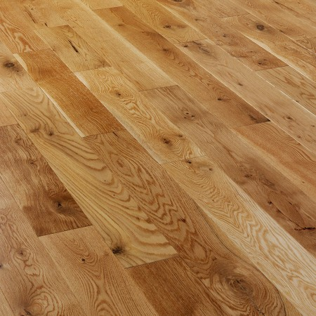 150mm Brushed & Oiled Engineered Rustic Oak Wood Flooring 1.65m²