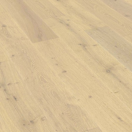 240mm Oiled Engineered Embossed Titanium White Rustic Oak Wood Flooring 1.82m²