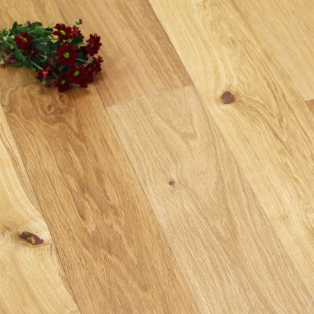 150mm UV Oiled Engineered Rustic Oak Wood Flooring 1.98m²