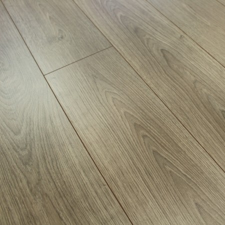 8mm Taupe Grey Laminate Flooring 1.9845m2