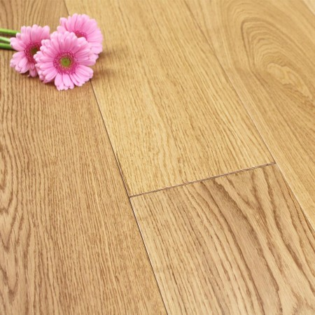 190mm Matt Lacquered Engineered Select Oak Wood Flooring 1.444m²