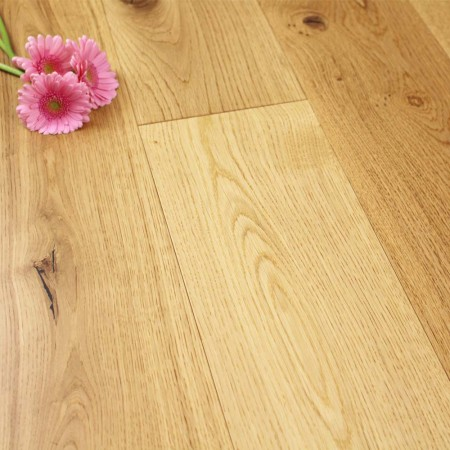 190mm Matt Lacquered Engineered Rustic Oak Wood Flooring 2.166m²