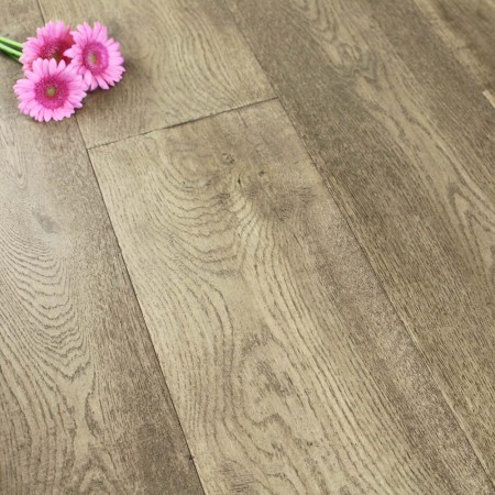 240mm Oiled Engineered Khaki Oak Wood Flooring 2.64m²