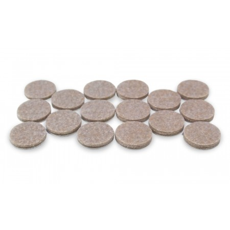 Self-Adhesive Felt Pads - Set of 16 - (25mm diameter)