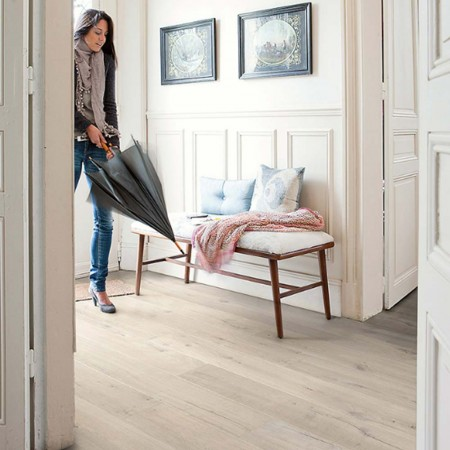 Quick-Step Impressive Ultra Soft Oak Beige IMU1854 Laminate Flooring