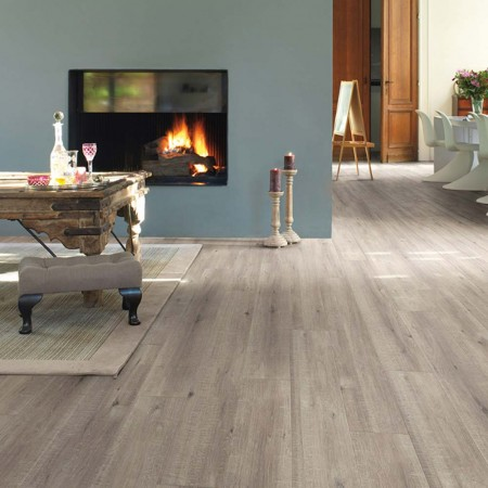 Quick-Step Impressive Ultra Saw Cut Oak Grey IMU1858 Laminate Flooring