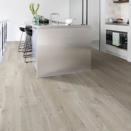 Quick Step Impressive Ultra Soft Oak Grey IMU3558 Laminate Flooring