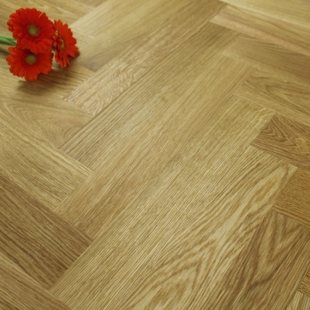 Engineered Prime Oak Oiled Parquet Block Wood Flooring 1.47m²