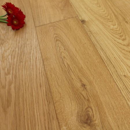 190mm Brushed, Handscraped & Oiled Engineered Oak Wood Flooring 2.166m²