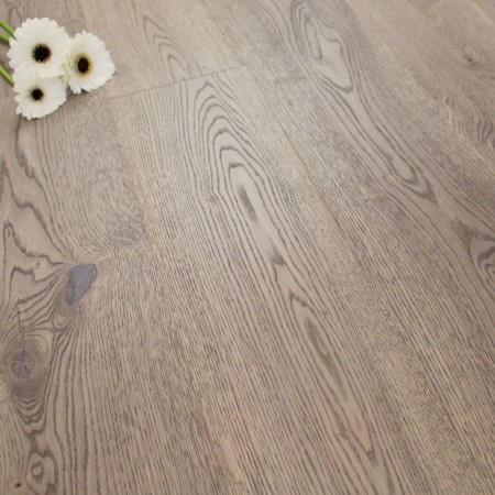 182mm Brushed & Natural Oiled Engineered Oak Tempest Click Wood Flooring 2.4m²