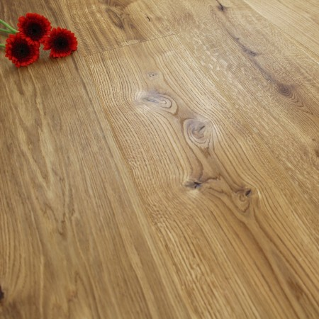 222mm Brushed & Natural Oiled Engineered Native Beam Click Wood Flooring 2.93m²