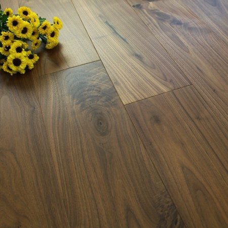 150mm UV Oiled Engineered Walnut Wood Flooring 1.98m²