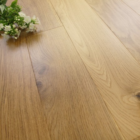 150mm Engineered Rustic Lacquered Oak Wood Flooring 2.28m²