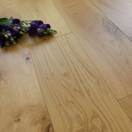 190mm Engineered Natural Oiled Oak Wood Flooring 2.17m²