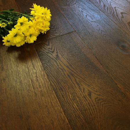189mm UV Oiled Engineered Rusty Oak 20mm Wood Flooring 2.11m²