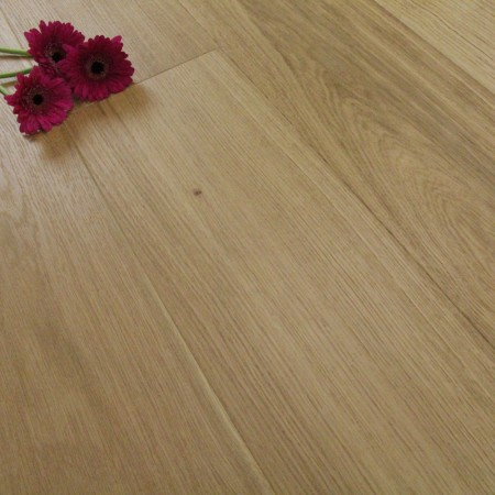 185mm Brushed & Matt Lacquered Engineered Select Grade Oak Click Wood Flooring 2.33m²
