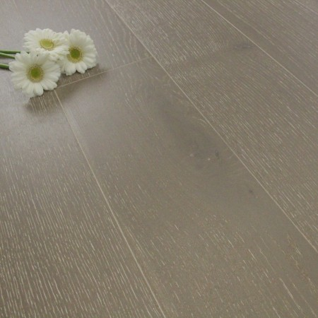 185mm Brushed & Matt Lacquered Engineered Cathedral Grey Oak Click Wood Flooring 2.33m²