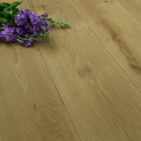 190mm Brushed & Invisible Oiled Engineered Oak Wood Flooring 2.89m²