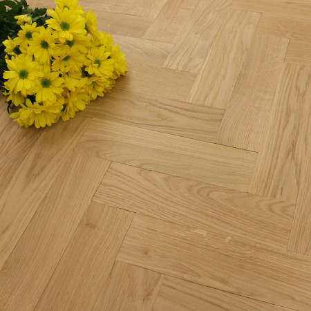 70mm Unfinished Prime Parquet Block Solid Oak Wood Flooring 0.98m2²