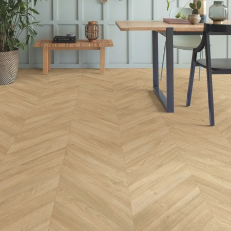 Quick-Step Impressive Patterns Chevron Oak Medium IPA4160 Laminate Flooring 1.901m²