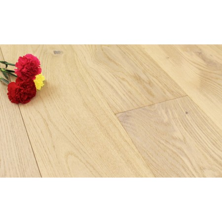 180mm Brushed & Lacquered Engineered Twyford Dove Oak Wood Flooring 1.89m²