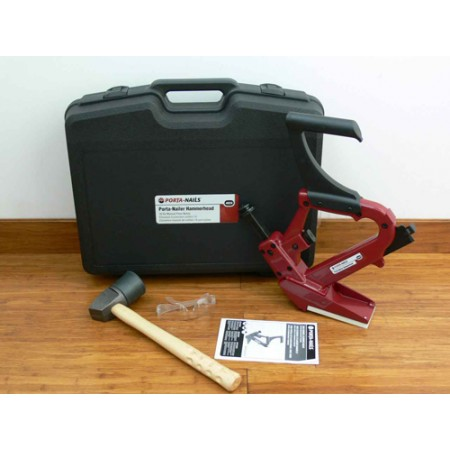 Porta-Nails Porta-Nailer Hammerhead 402A Wood Flooring Secret Nailing Gun